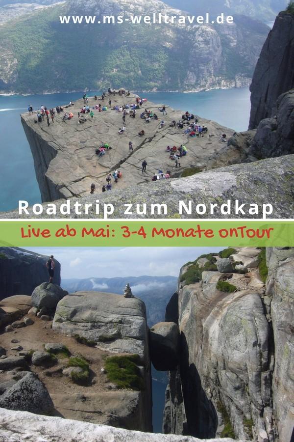 Roadtrip zum Nordkap! Mit dem Wohnmobil auf Abenteuer!